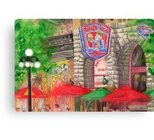 Kings Head Pub, Winnipeg, Canada Canvas Print