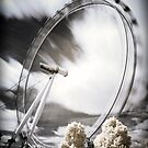 London - The Eye in Infrared by Kaitlin Kelly