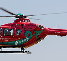 wales air ambulance by clayton  jordan