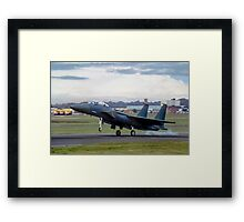 TF-15A 71-0291, the first Strike Eagle Framed Print