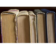 five books Photographic Print