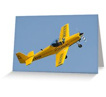 slingsby firefly Greeting Card