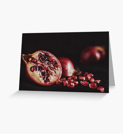 Still granite Greeting Card