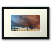 ©HCS Cloudscape Tower IV Framed Print