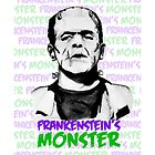 Frankenstein's Monster Colour by FontaineN