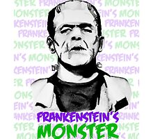 Frankenstein's Monster Colour by FontaineN