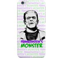Frankenstein's Monster Colour iPhone Case/Skin