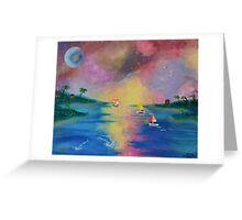 Bahama Sunset Greeting Card