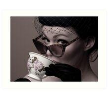 Cheeky Cuppa Art Print