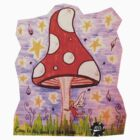 Mushroom Fairy. by kirsten-designs