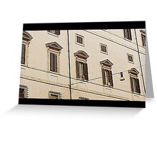Still architectural details Greeting Card