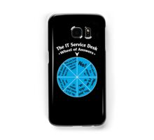 The IT Service Desk Wheel of Answers. Samsung Galaxy Case/Skin