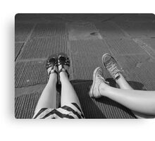 Take the Weight Off Your Feet Canvas Print