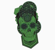 Bursting Geo Skull by Tiduk