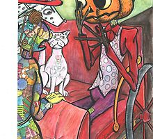 """Chpt. Illust. from """"The Evil Emerald Village of Oz"""" Illust. by: Dennis Anfuso by RONBAXLEYJR"""