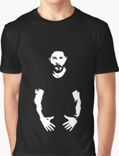 JUST DO IT - Shia LaBeouf Graphic T-Shirt