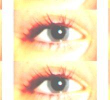 Many Eyes Sticker