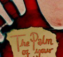 Palm of Life Sticker