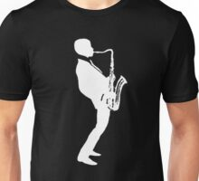 jazz t-shirt on dark Unisex T-Shirt