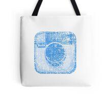 Minimal instagram Tote Bag
