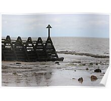 Grey Days Walton on the Naze Poster