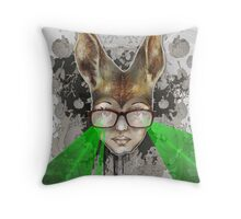 Australian Liza with Lasers Throw Pillow