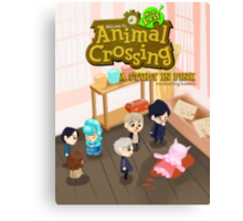 Animal Crossing! Sherlock Canvas Print