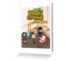 Animal Crossing! Sherlock Greeting Card
