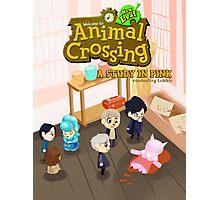 Animal Crossing! Sherlock Photographic Print