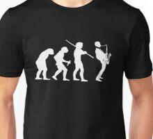 evolution of jazz t-shirt on dark Unisex T-Shirt