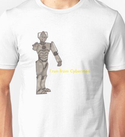 I run from Cybermen Unisex T-Shirt