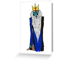 Ice King Greeting Card