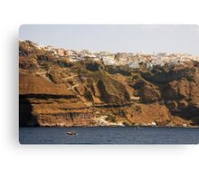 Thíra, Santorini, Greece Canvas Print