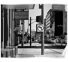 NO LEFT TURN Poster