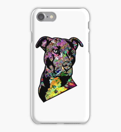 Pitbull BSL Black iPhone Case/Skin