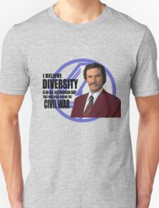Anchorman - Ron Unisex T-Shirt