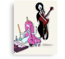 Music Time Canvas Print