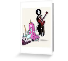 Music Time Greeting Card