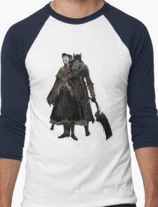 Bloodborne - Doll and Hunter Men's Baseball ¾ T-Shirt