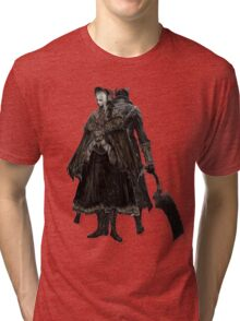 Bloodborne - Doll and Hunter Tri-blend T-Shirt
