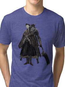 Bloodborne - Doll and Hunter Tri-blend T-Shirt