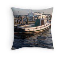 Bristol, Rhode Island Throw Pillow