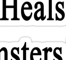My Mom Heals Hamsters For Fun  Sticker