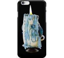 Candle with Melted Wax iPhone Case/Skin
