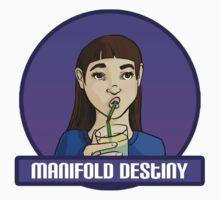 Manifold Destiny - Ada Moss Kids Tee