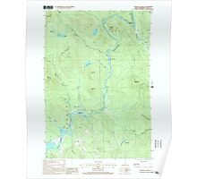 USGS TOPO Map New Hampshire NH Teakettle Ridge 329825 2000 24000 Poster