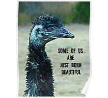 """Born Beautiful"" Poster"