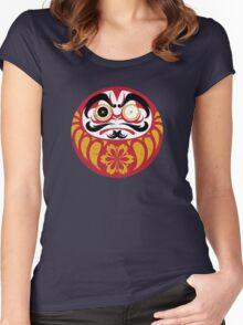 Kabuki Daruma Women's Fitted Scoop T-Shirt