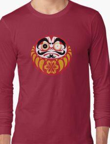 Kabuki Daruma Long Sleeve T-Shirt