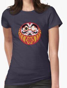 Kabuki Daruma Womens Fitted T-Shirt